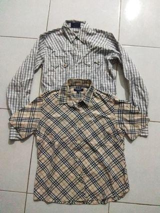 Combo Burberry and Bape for women