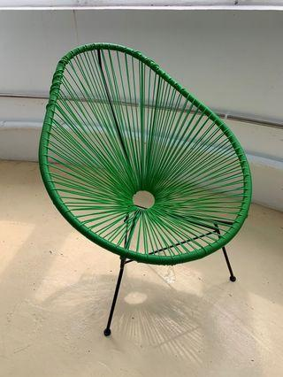 Rio Chair in Forest Green