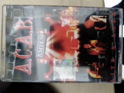 Acab live and loud kaset
