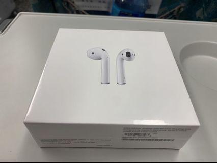 🍎apple Airpods 2 無線充電版!全新現貨!香港機場代購!
