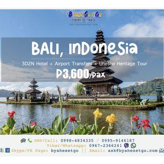 3D2N Bali Indonesia Tour Package