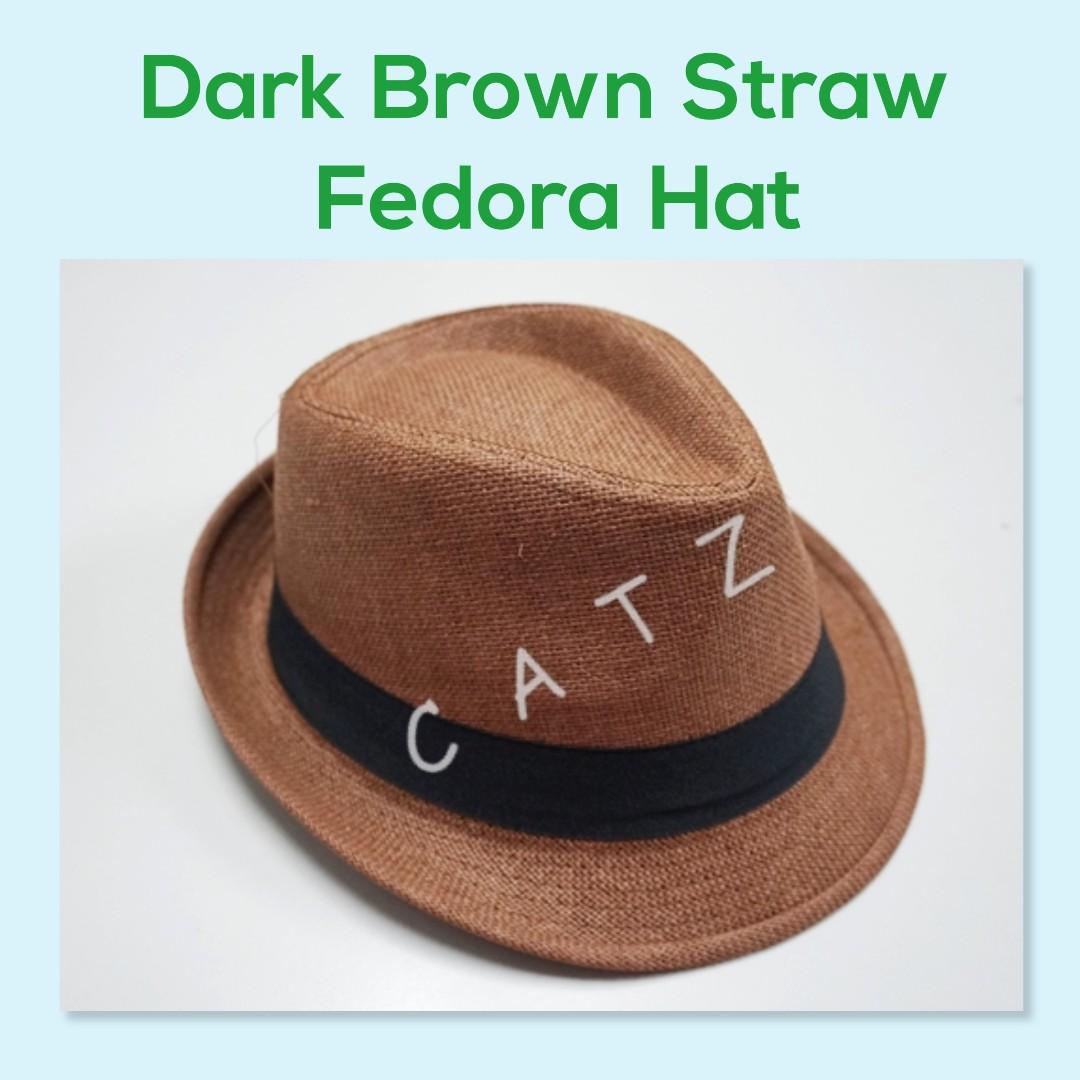 62a5b537fe < PREMIO > Fedora Hat Straw Hat Top Hat Men and Women Hat Fashion Hat Party  Hat Accessories Unisex