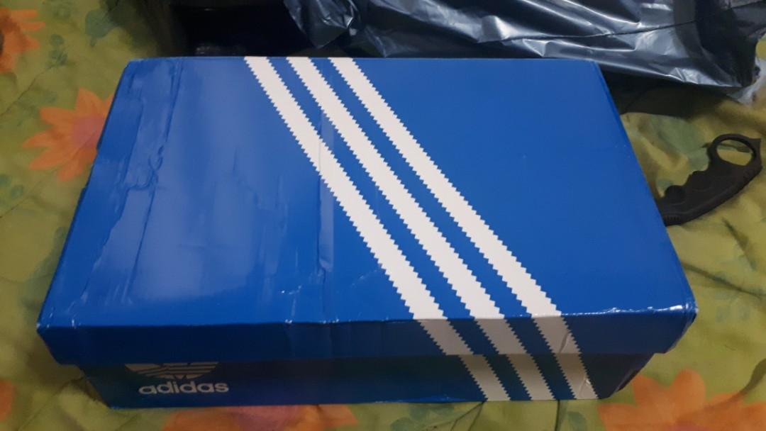 Adidas Samba Og Trainers Navy/Orange