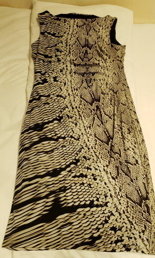 英國牌子 Anne Klein 高貴修身裙