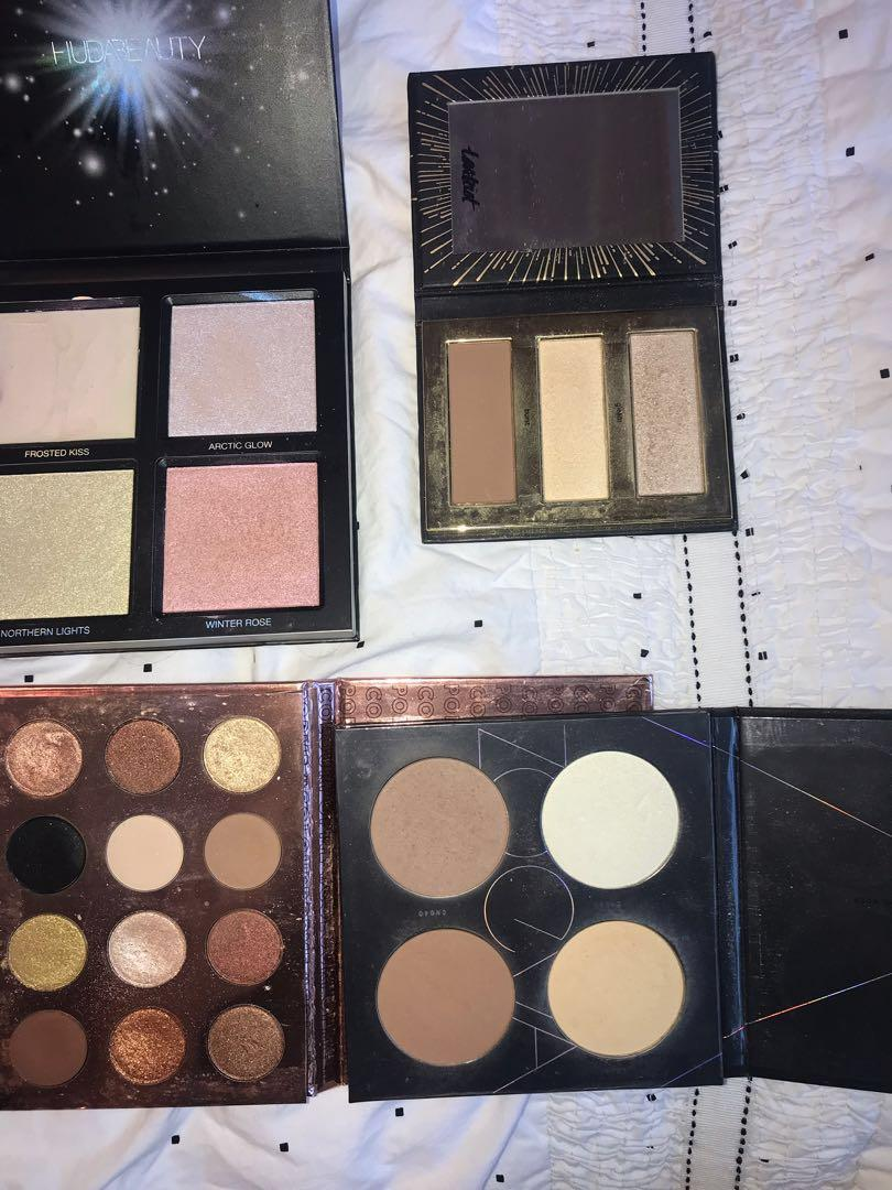 Authentic makeup pallets