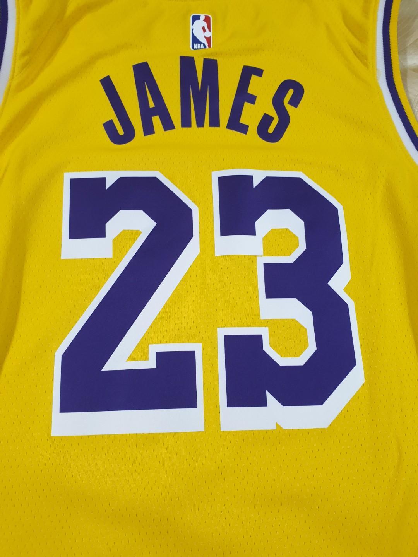 new arrival c7de0 9fea9 Authentic NBA Showtime Nike LA Lakers Jersey XL with #23 ...