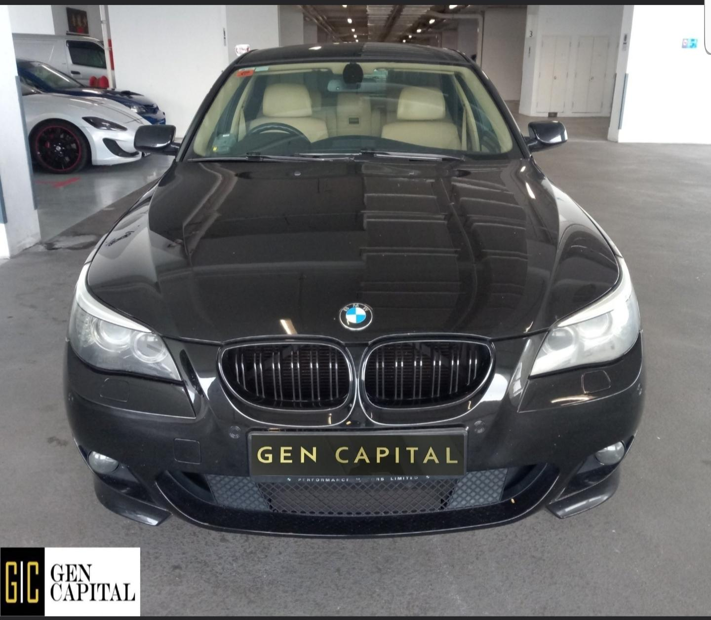 BMW 525i XL Luxury 2010 • Grab Gojek Ryde Tada & Non PHV Car Rental