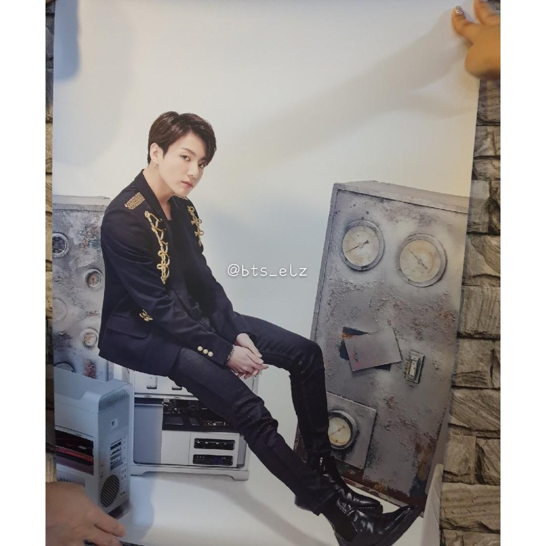 BTS SY Tour Japan Edition MD Posters Jungkook V J-Hope Jin