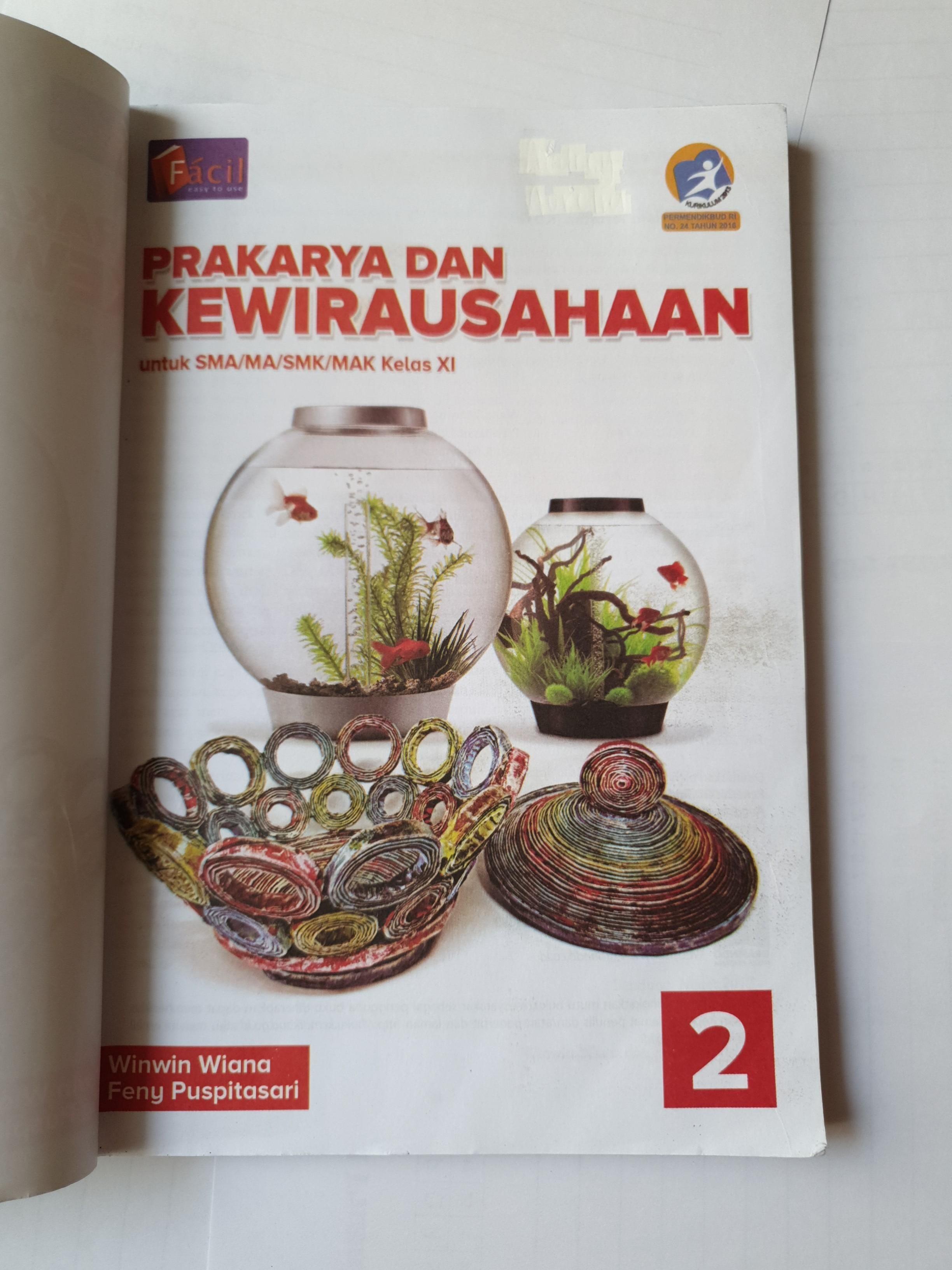Buku Prakarya dan Kewirausahaan