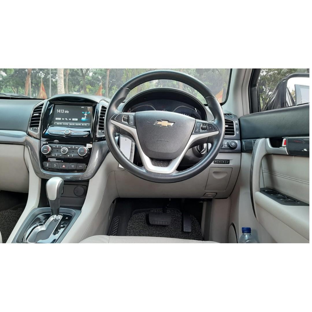 Chevrolet Captiva Diesel Facelift 2.0 AT 2017 Dp 85,9 Jt No Pol Genap