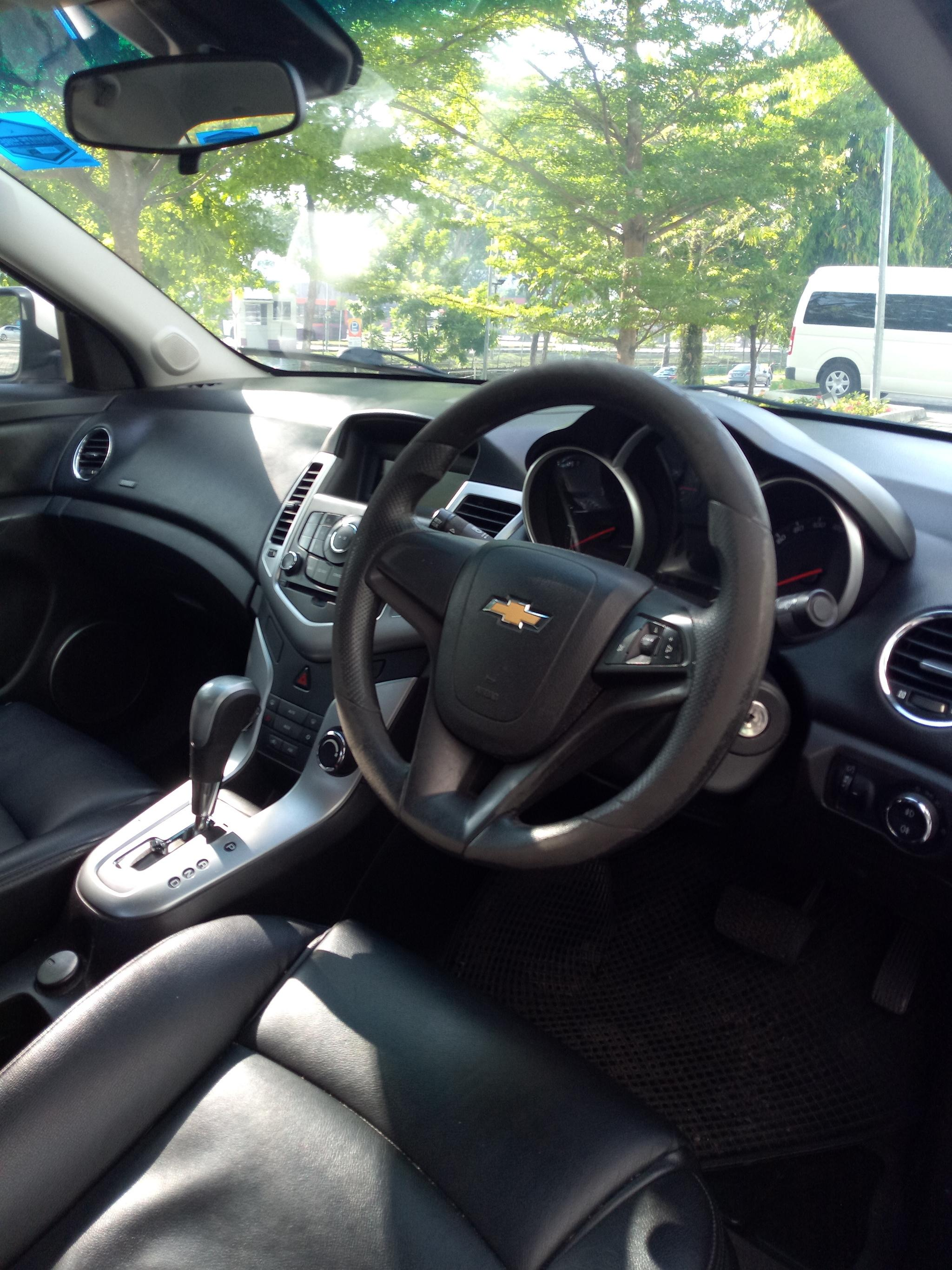 Chevrolet Cruze 1.6A Grab Gojek Ryde Tada & Non PHV Car Rental