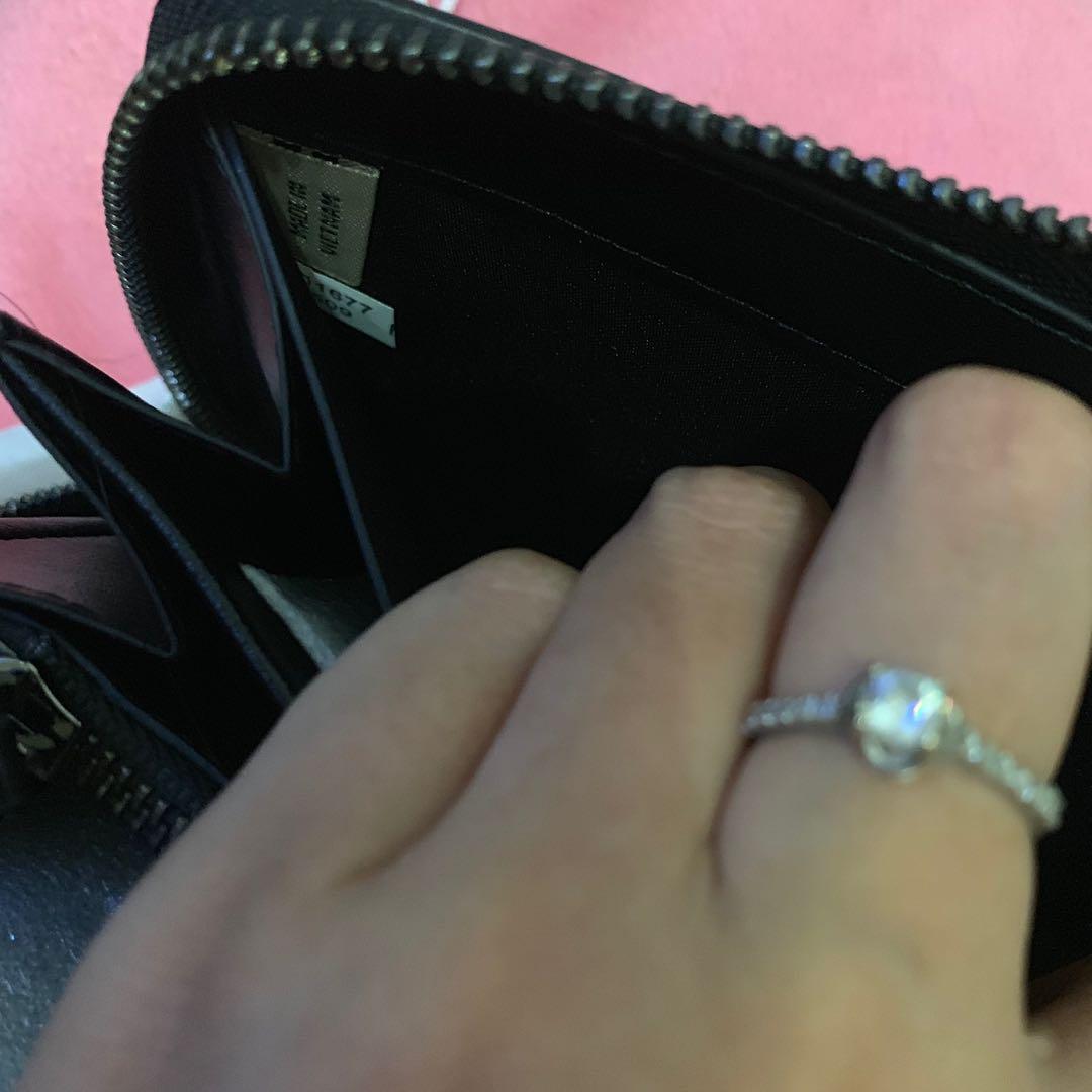 coach double zip travel wallet clutch for men authentic / clutch cowo murah original
