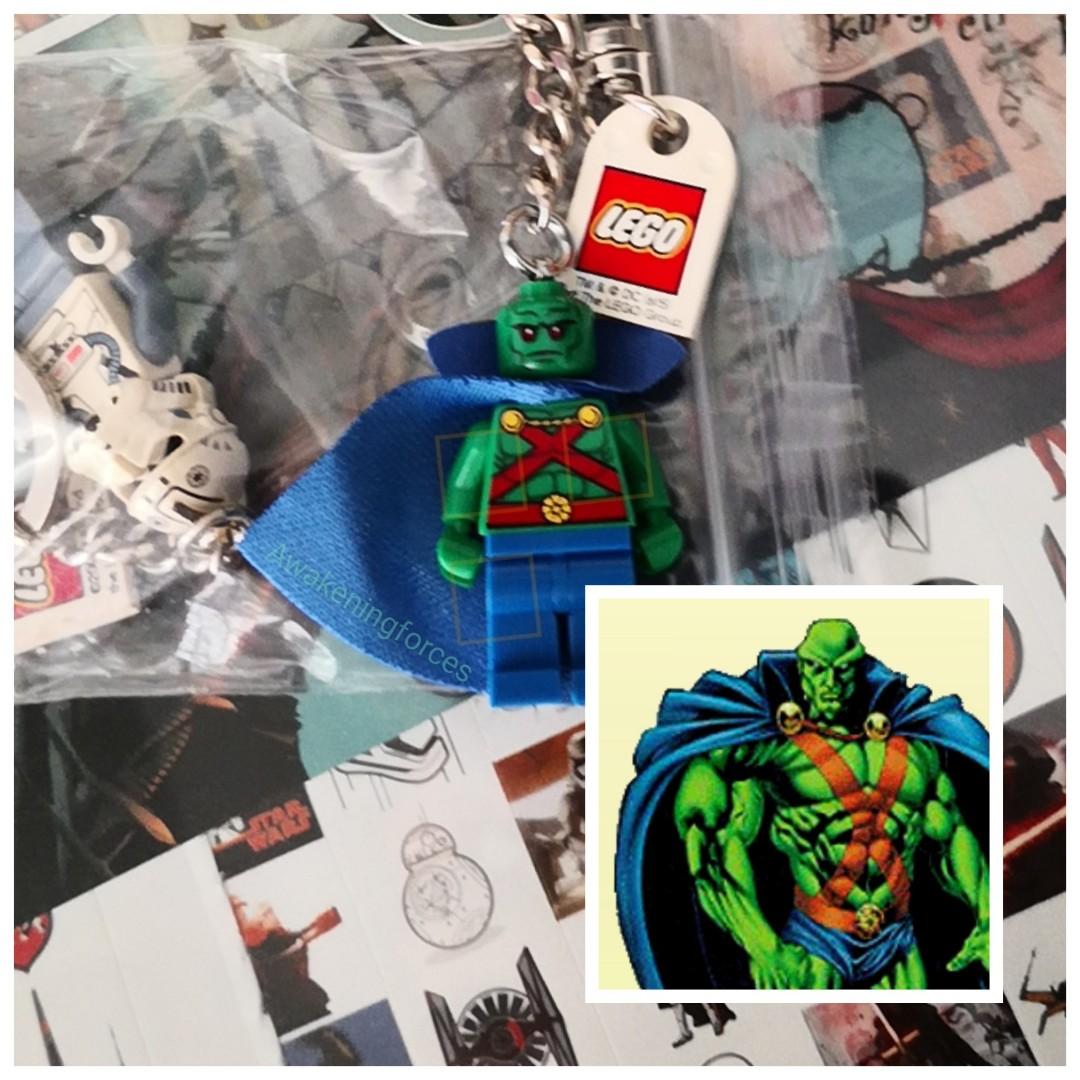 Lego DC Super Heroes Martian Manhunter Key Chain New
