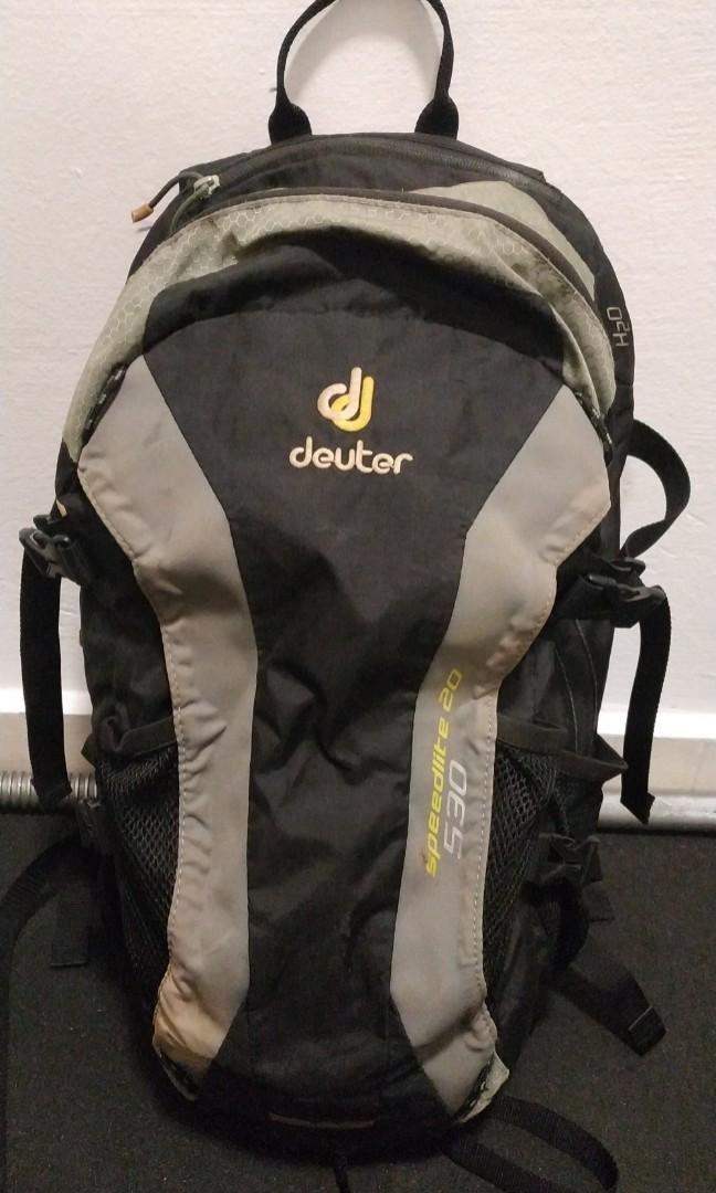 Los Angeles goedkope prijzen populair kopen Deuter speedlite 20 530 back pack, Men's Fashion, Bags ...