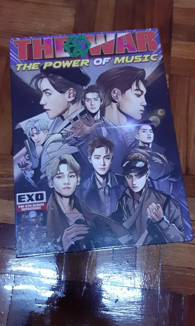 EXO REPACKAGE ALBUM: THE POWER OF MUSIC (CHINESE VER)
