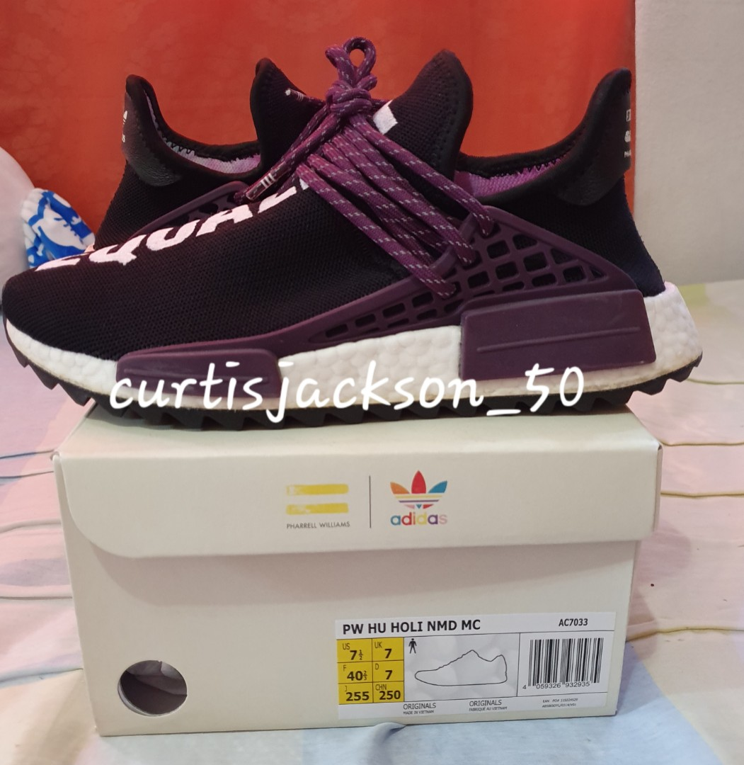 Adidas NMD Human Race HOLI PACK US 7.5 Core Black