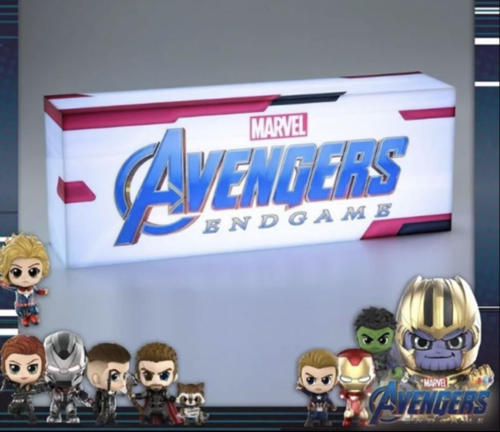 Hot Toys - PLIG002N - Avengers: Endgame Light Box on Carousell