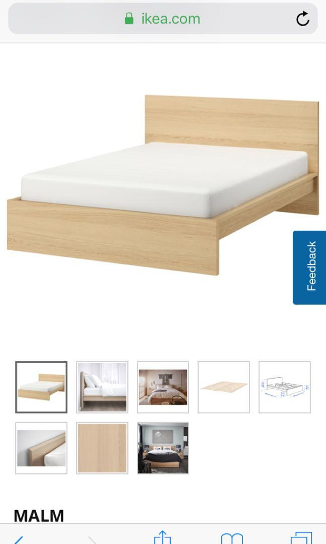 Ikea Malm King Size Furniture Beds Mattresses On Carousell