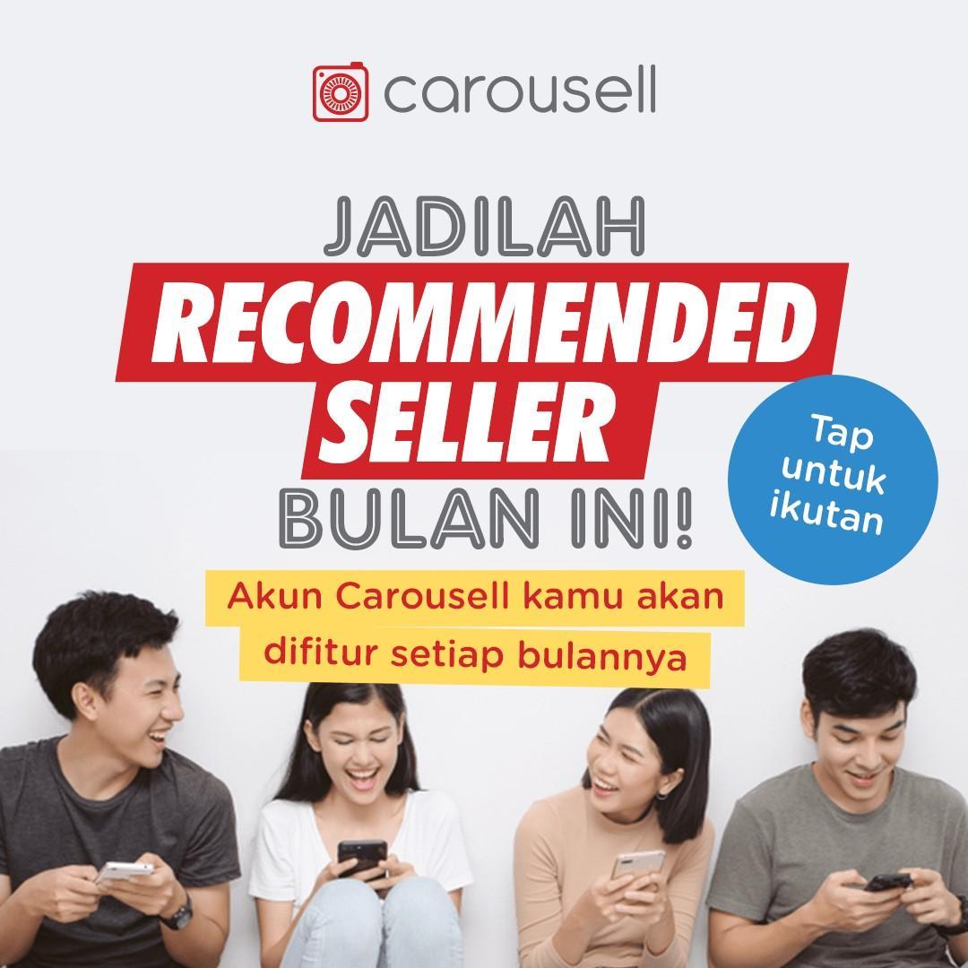 Jadilah Carousell Recommended Seller bulan Juli 🥳