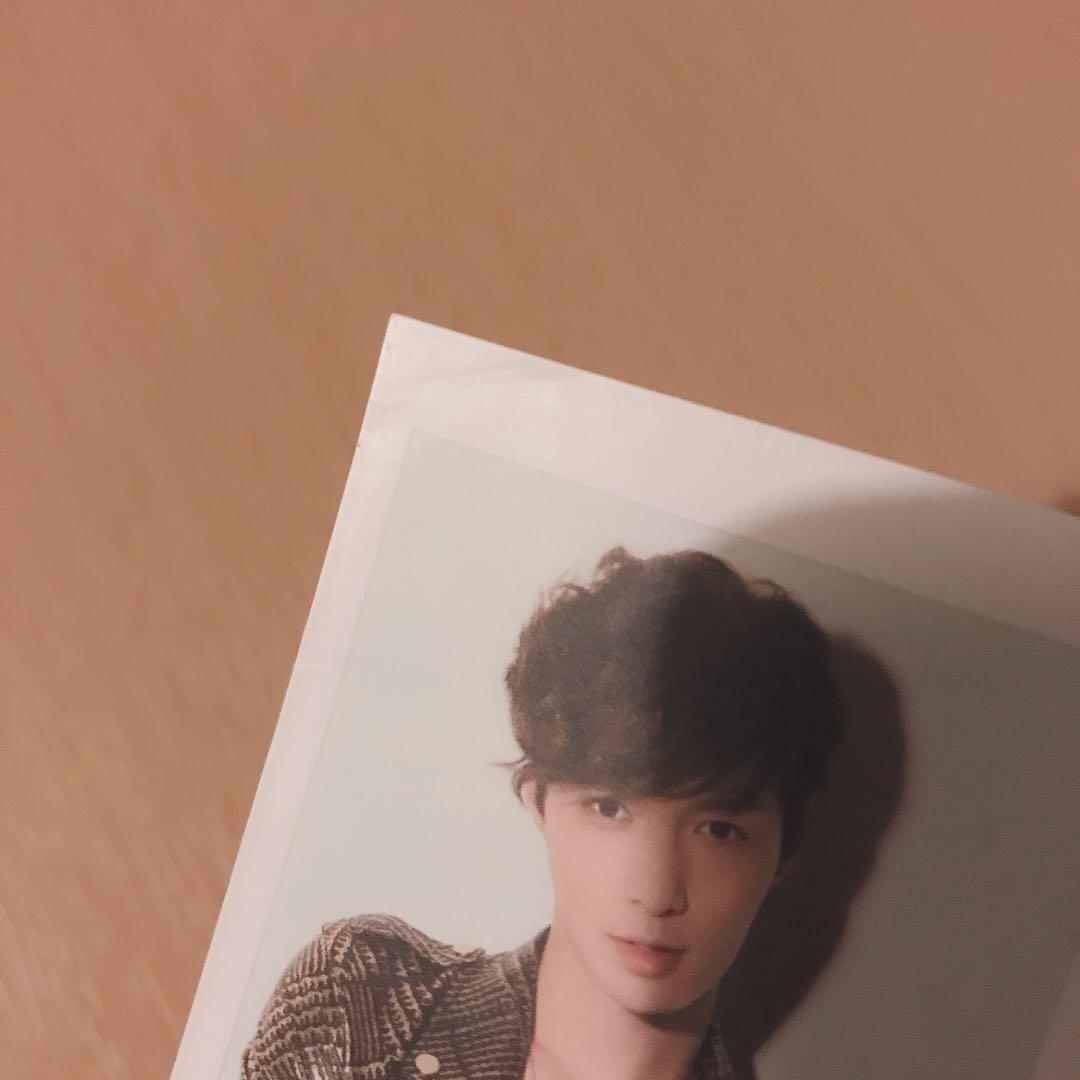 lay yixing exo socool Polaroid photocard