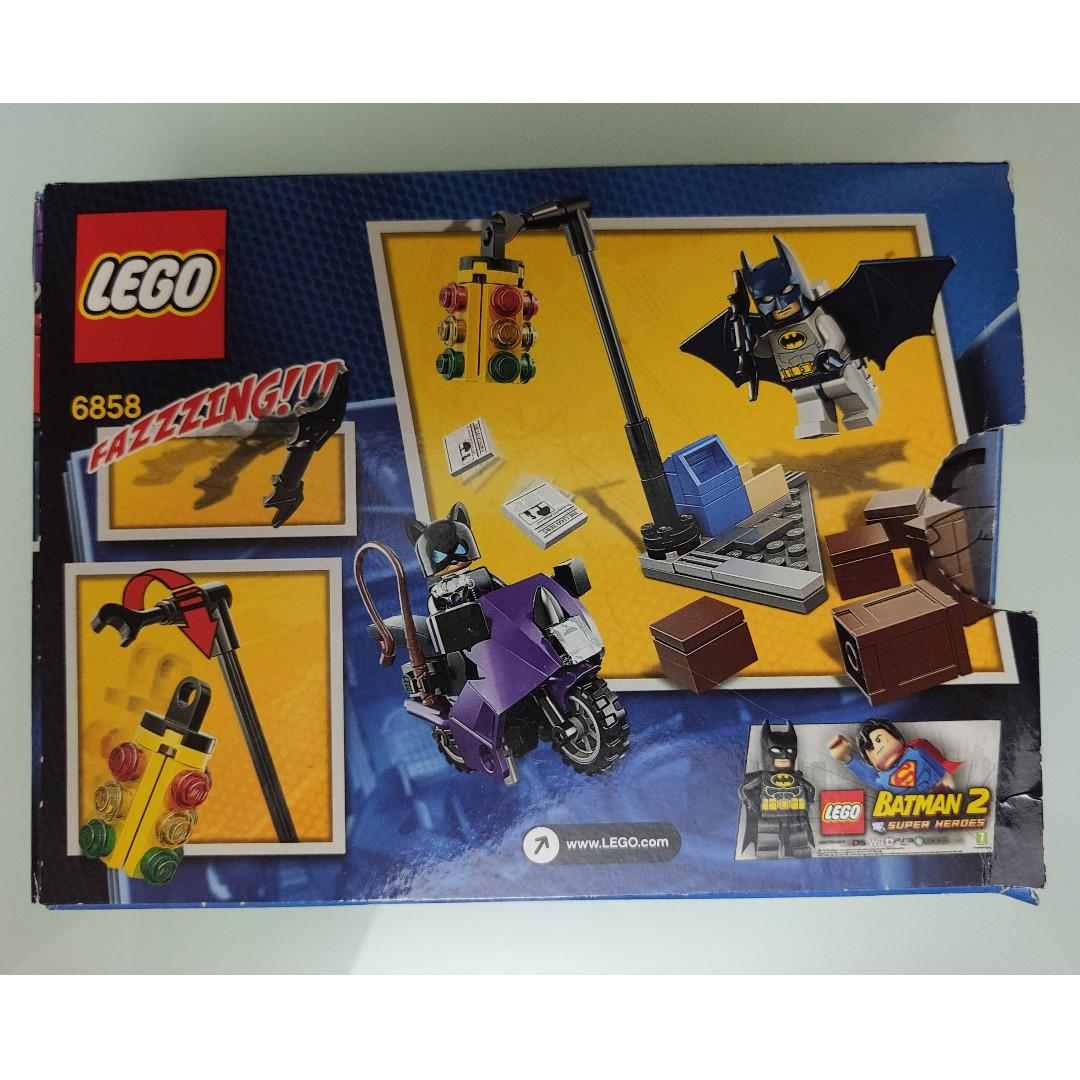 LEGO DC Superheroes Batman系列 6858 Catwoman Catcycle City Chase