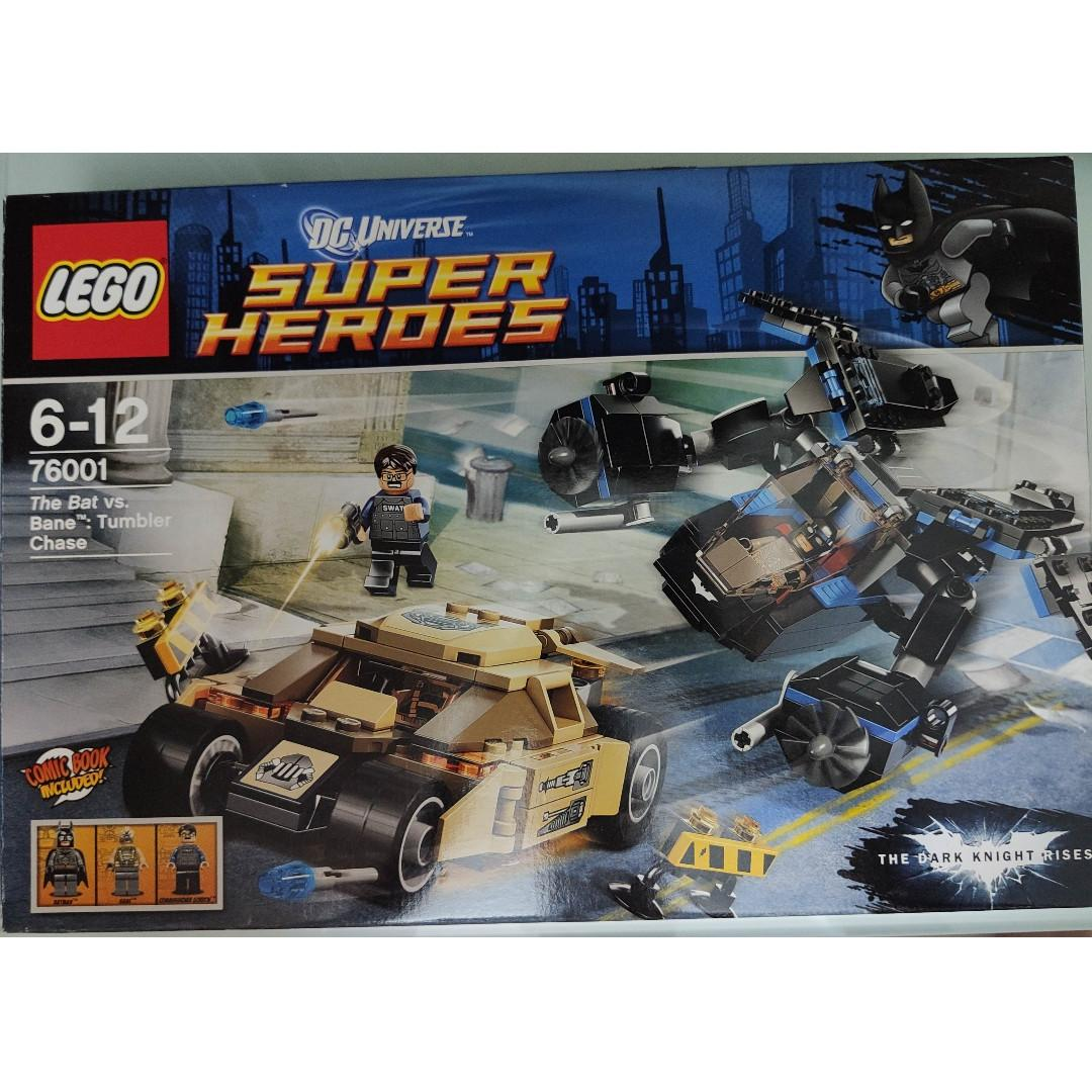 LEGO DC Superheroes Batman 系列 76001 The Bat vs Bane: Tumbler Chase