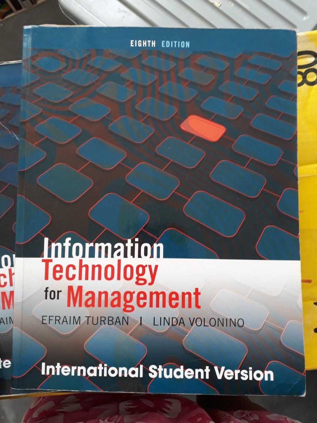Master's Degree Textbook IT for Management #1010