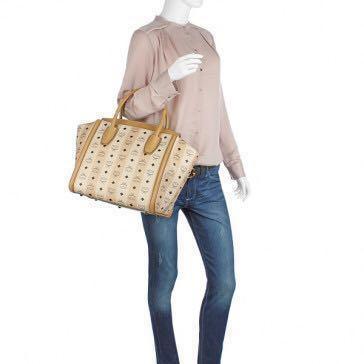 MCM STRASSE VISETOS shoulder handbag Authentic (reprice ONLY TODAY)