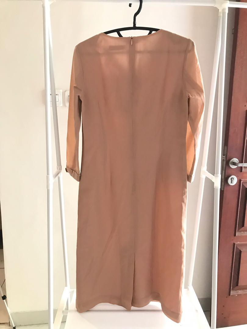 Mididress baby pink