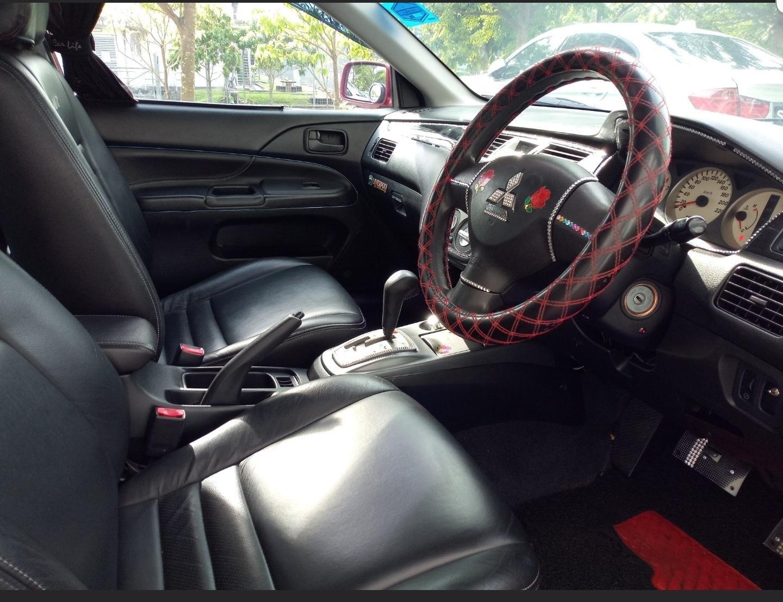 Mitsubishi Lancer GLX 1.6A • Grab Gojek Ryde Tada & Non PHV Car Rental