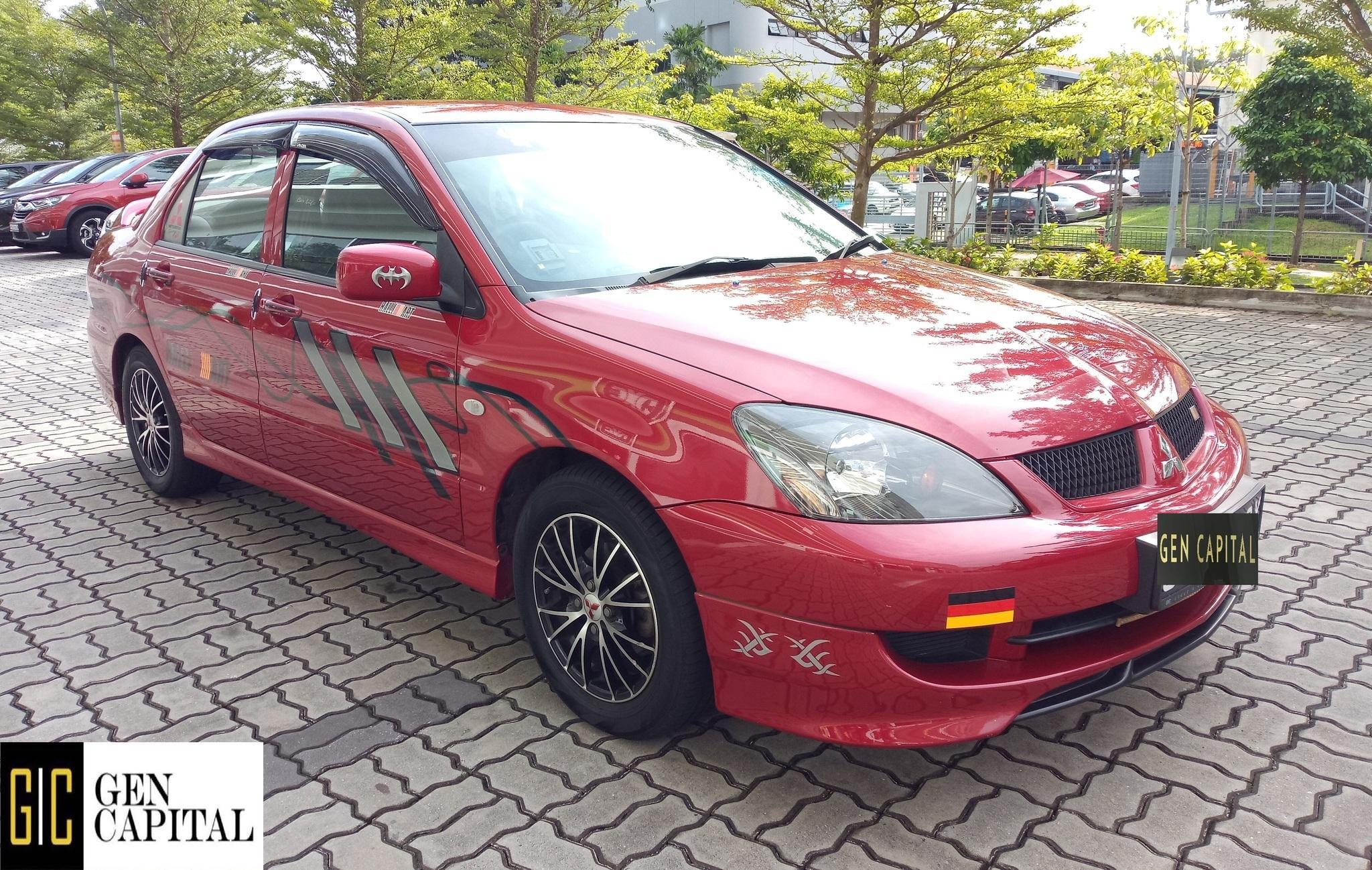 Mitsubishi Lancer GLX 1.6A Grab Gojek Ryde Tada & Non PHV Car Rental