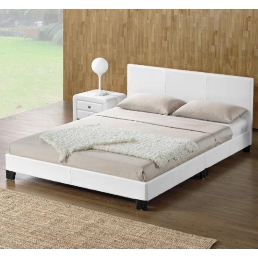 MONICA PU BEDS (AVAILABLE NOW!!-COMBO DEAL MATRESS INCLUDED!!)
