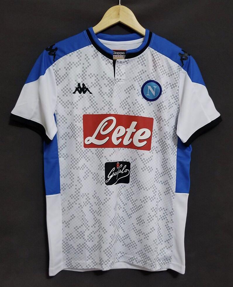 Napoli Away Jersey Kit Napoli Jersey 19 20 Sports Sports Apparel On Carousell
