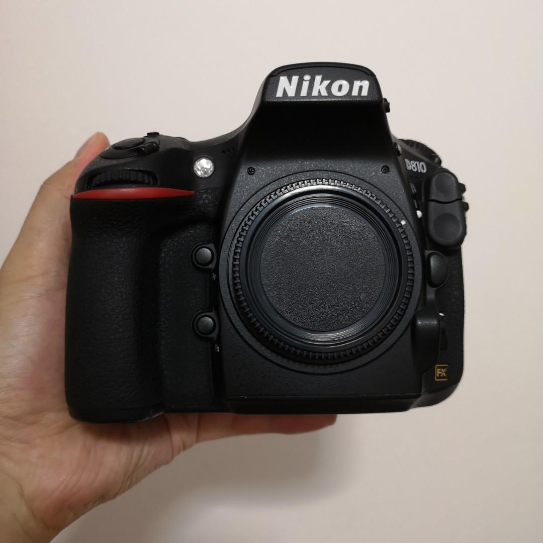 Nikon D810 body (Price Fixed), Photography, Cameras, Digital