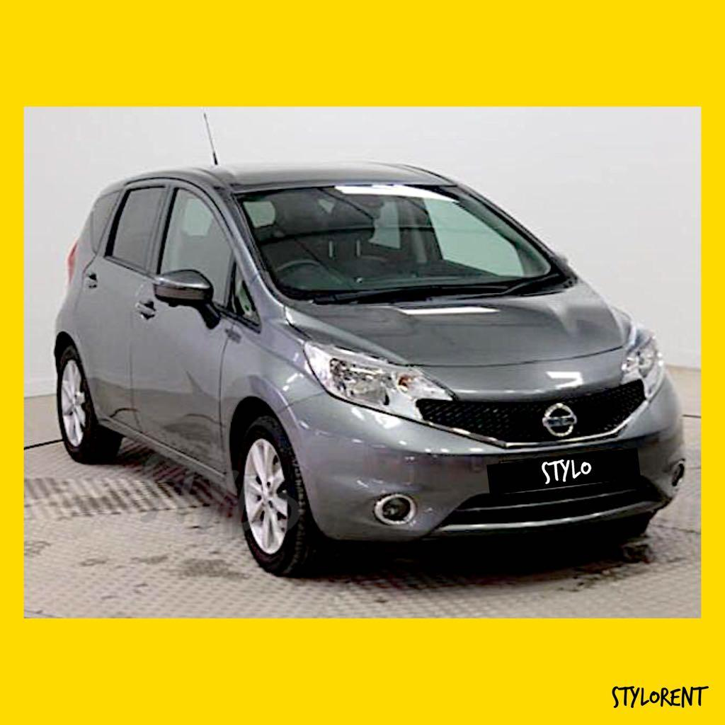 Nissan Note CAR RENT GRAB GOJEK RYDE CHEAP RENTAL FUEL SAVING