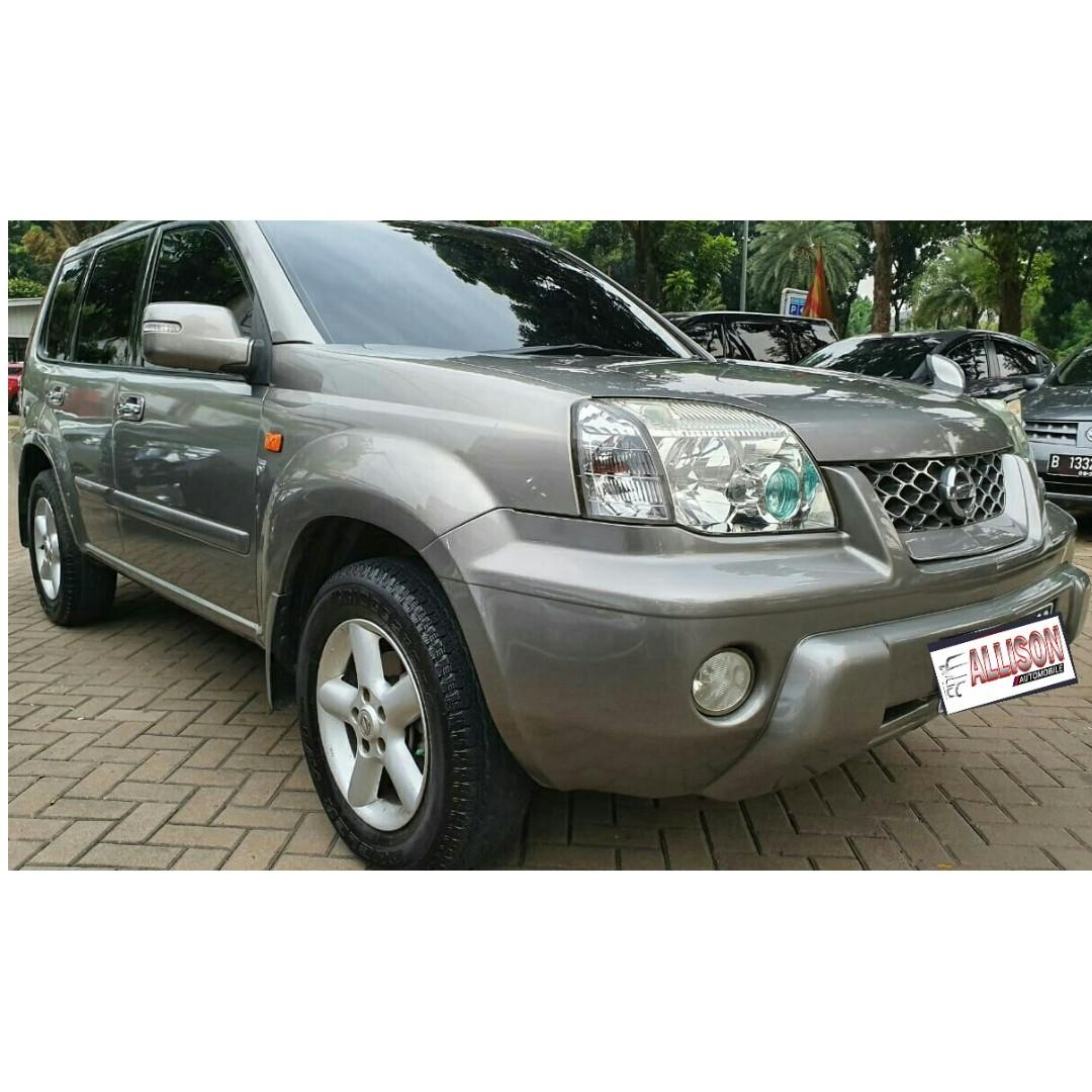 Nissan X-Trail 2.5 ST AT 2014 Silver DP 38,9 Jt No Polisi Genap