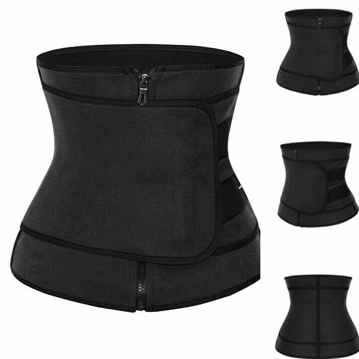 One belt waist trainer