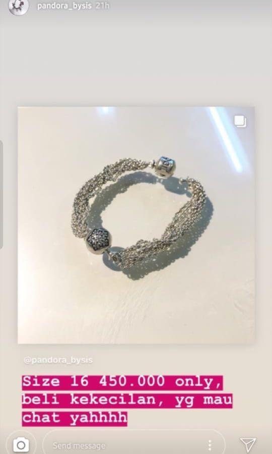 Pandora Bracelet Moments One Clip Fesyen Wanita Perhiasan Di Carousell
