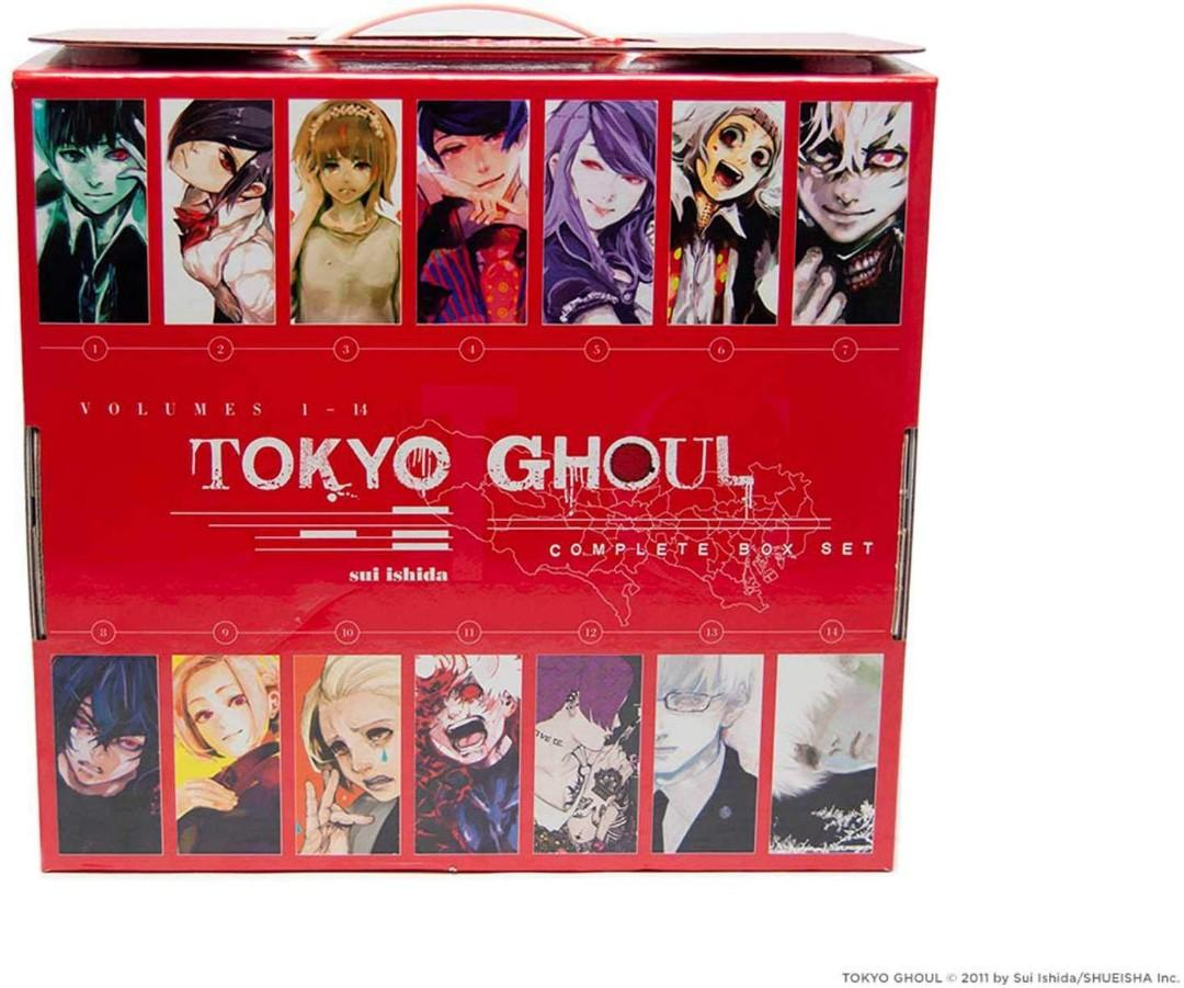 (pre order) Tokyo ghoul box set 1-14 complete english