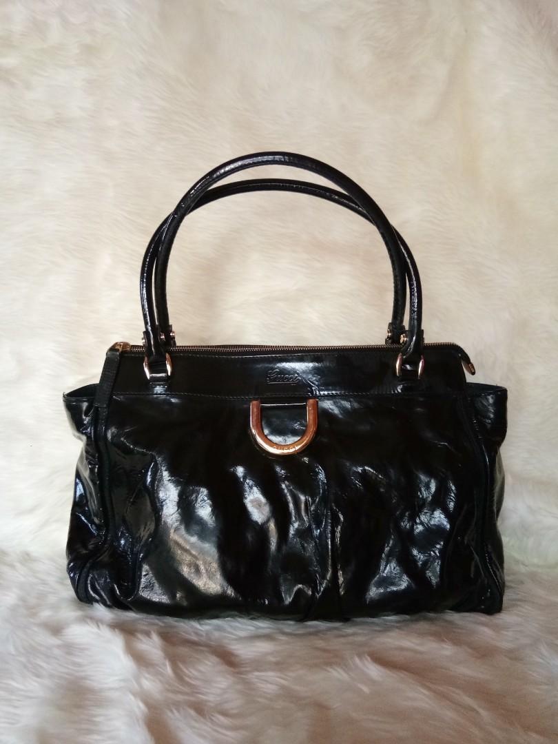 Preloved Gucci Glossy Shoulder Bag AUTHENTIC #prelovedwithlove #HBDSale