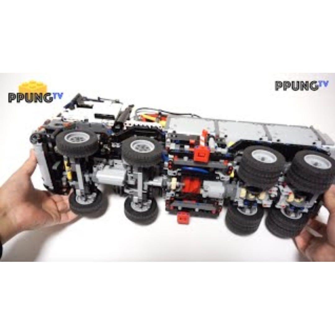*RC pack* for LEGO Technic 42043 RC Motorization MOD - A model Mercedes-Benz Arocs 3245, remote control service