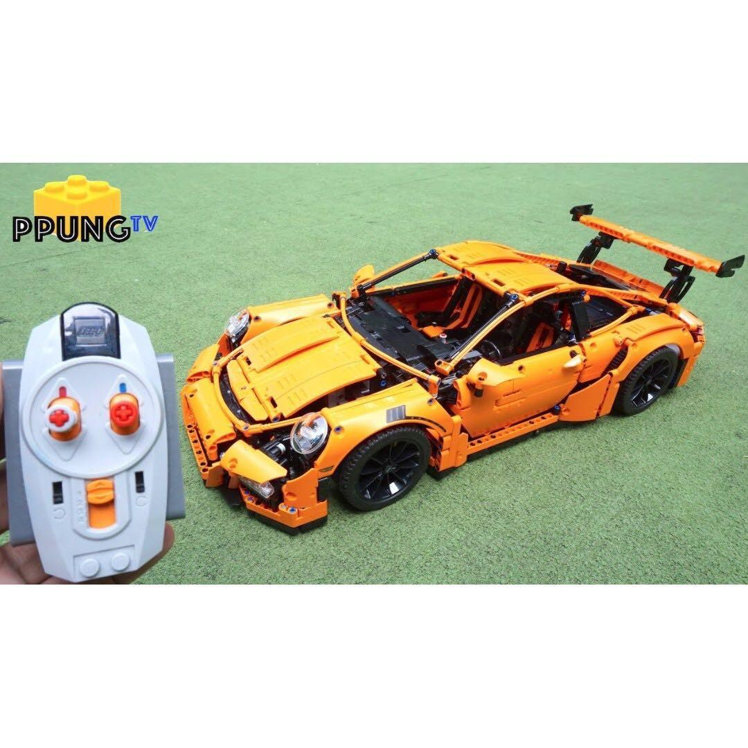 *RC pack* for LEGO Technic 42056 RC Motorization MOD - motorized Porsche 911 GT3 RS, remote control service