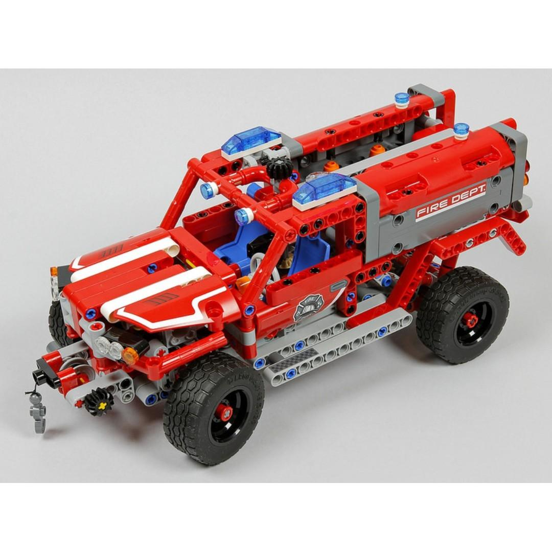 *RC pack* for LEGO Technic 42075 First Responder, RC Motorization MOD - A model, remote control service