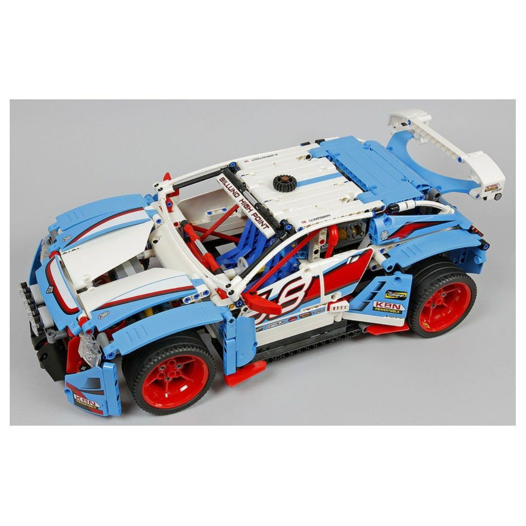 *RC pack* for LEGO Technic 42077 RC Motorization MOD - A model Rally car, remote control service