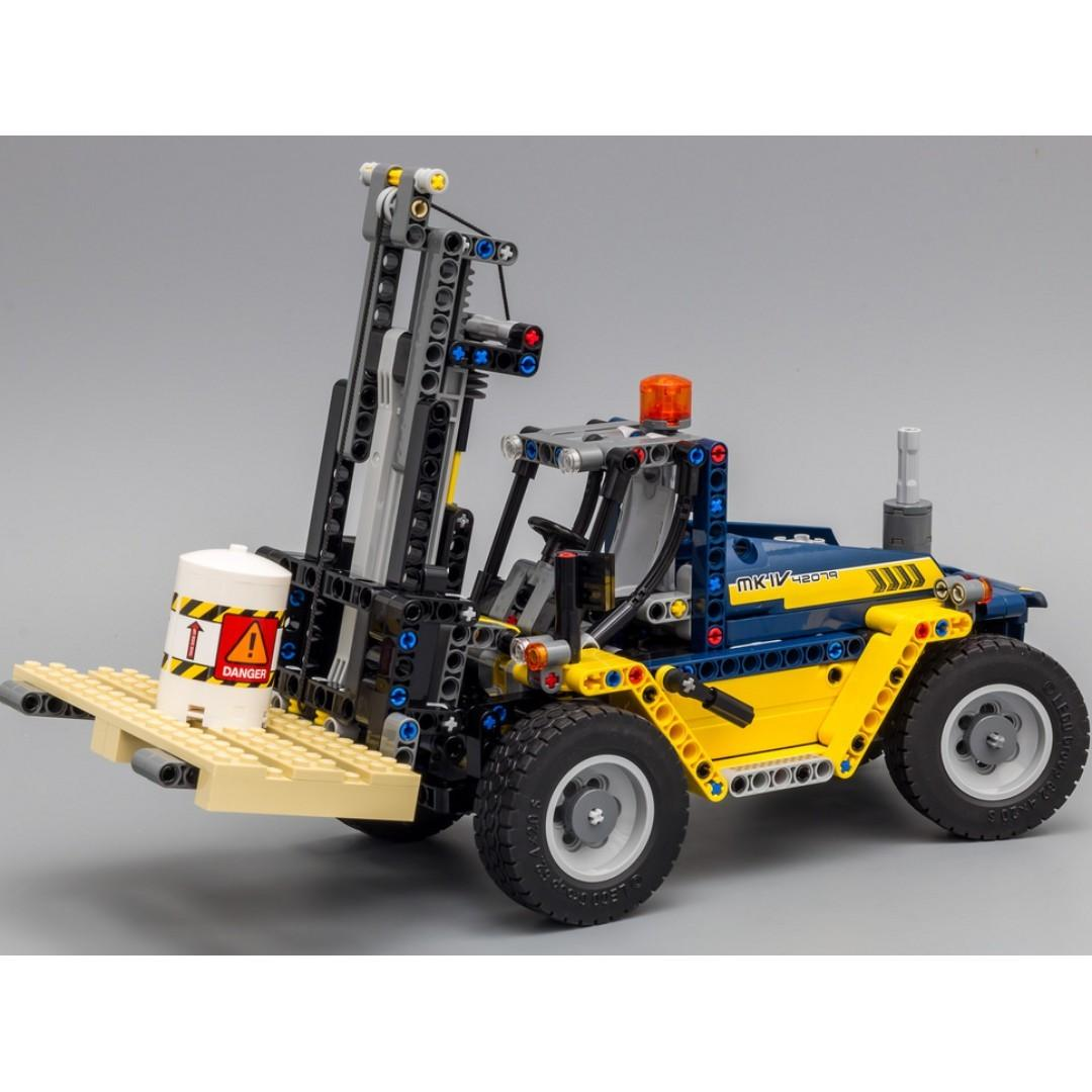 *RC pack* for LEGO Technic 42079 Heavy Duty Forklift, RC Motorization MOD - A model, remote control service