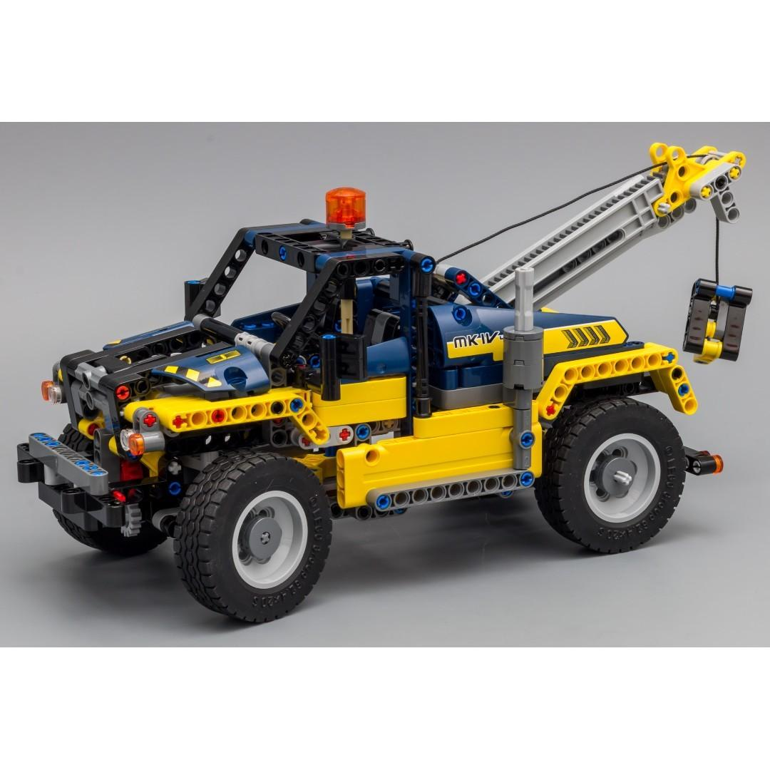 *RC pack* for LEGO Technic 42079 Tow Truck, RC Motorization MOD - B model, remote control service
