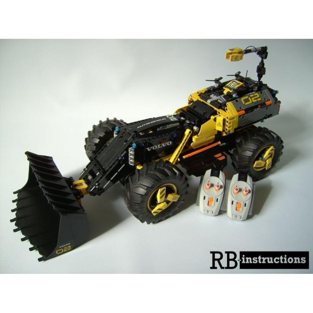 *RC pack* for LEGO Technic 42081 Volvo ZEUX, RC Motorization MOD, remote control service