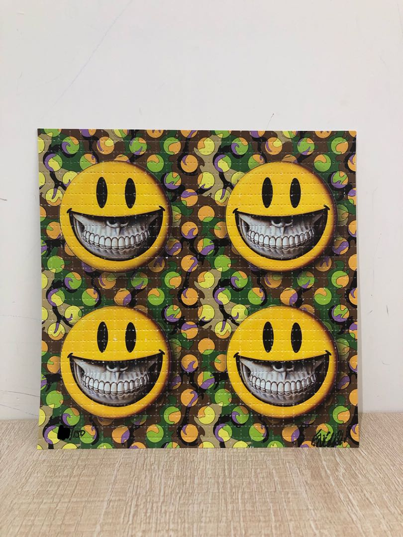 RON ENGLISH - Grin art print limited 150 全球限定150張