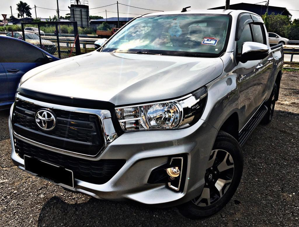 SAMBUNG BAYAR / CONTINUE LOAN   TOYOTA HILUX LIMITED EDITION 2.5 AUTO NEW FACELIFT