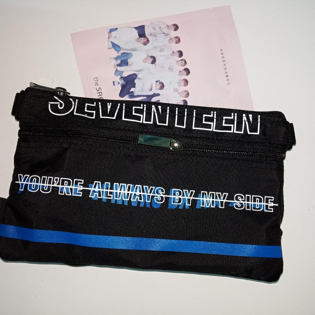 SEVENTEEN CARATLAND HOLIDAY CROSS BAG      never use before  keep well in ori packing price still can nego